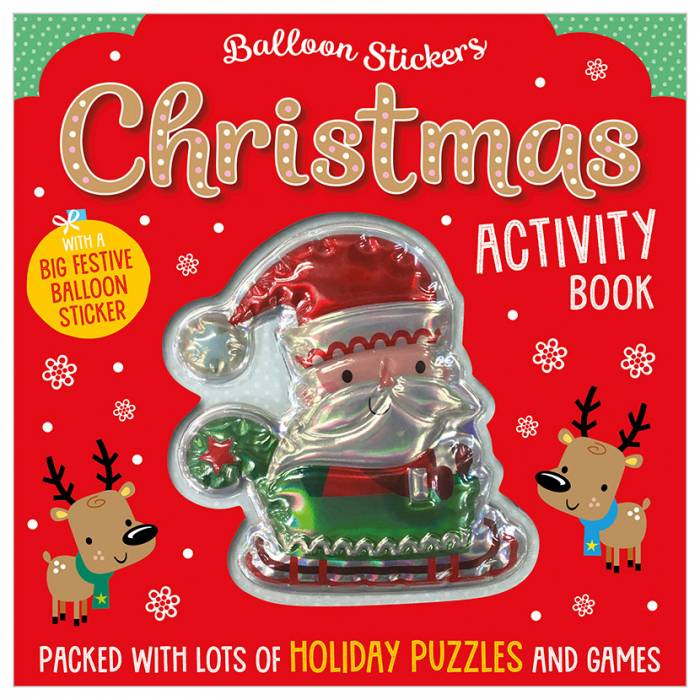 First Spread of Balloon Stickers Christmas Activity Book (9781788439336)
