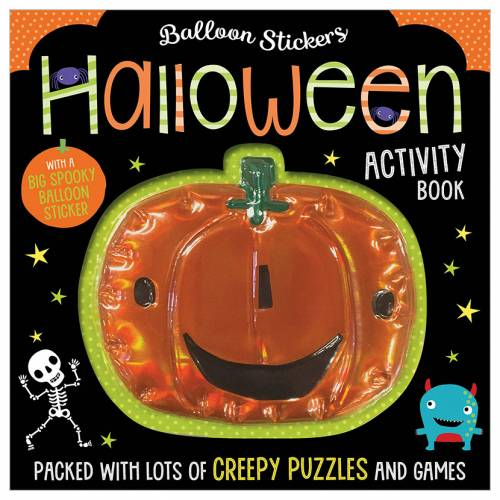 First Spread of Balloon Stickers Halloween Activity Book (9781788438988)
