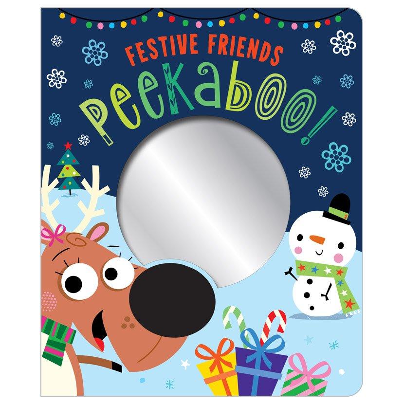 First Spread of Festive Friends Peekaboo! (9781789470604)