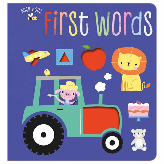 First Spread of First Words (9781788438407)