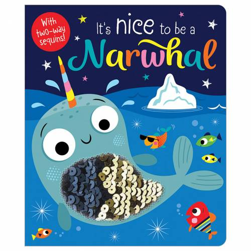 First Spread of It's Nice to be a Narwhal (9781788439985)