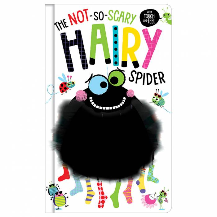 First Spread of The Not So Scary Hairy Spider (9781788436083)