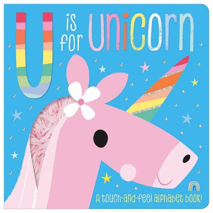 First Spread of U is for Unicorn (9781788438261)