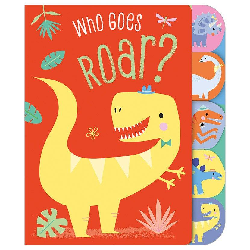 First Spread of Who Goes Roar? (9781788438360)
