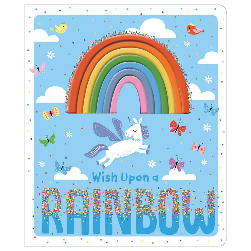 First Spread of Wish Upon a Rainbow (9781789470024)