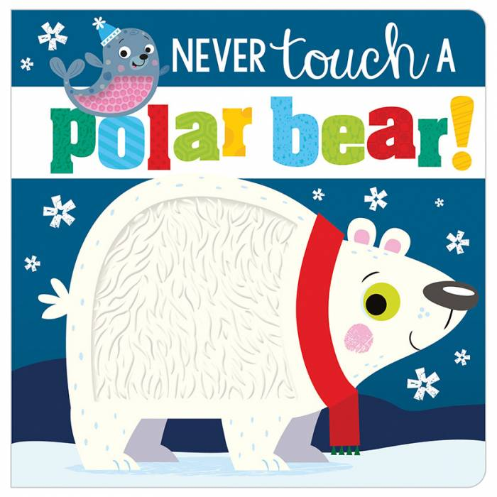 First Spread of Never Touch a Polar Bear! (9781789478884)