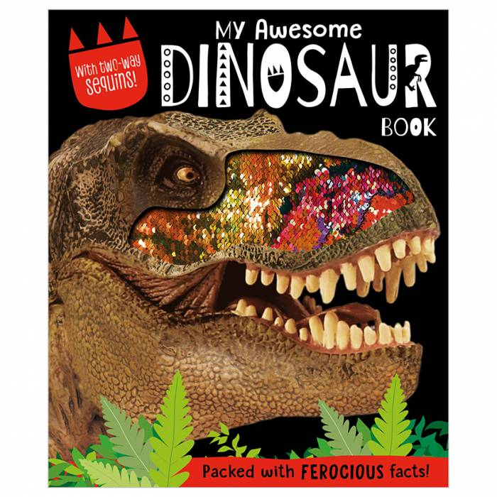 First Spread of My Awesome Dinosaur Book (9781789478136)