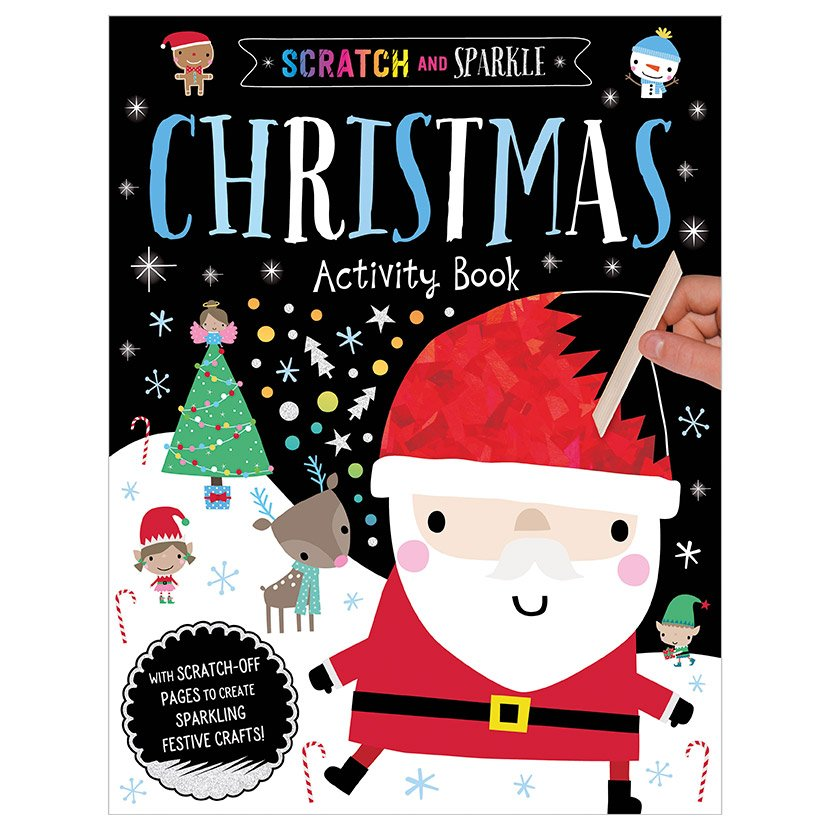 First Spread of Scratch and Sparkle Christmas Activity Book (9781788439343)