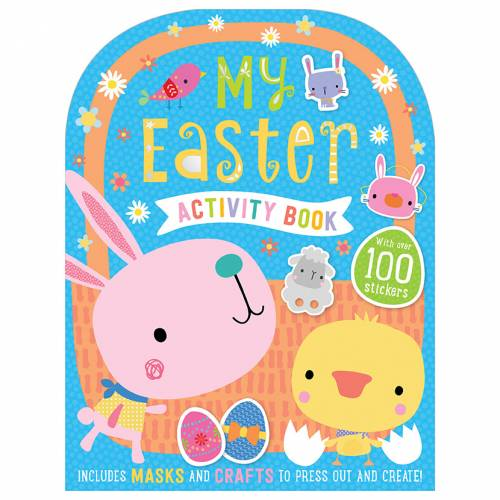 First Spread of My Easter Activity Book (9781788435369)