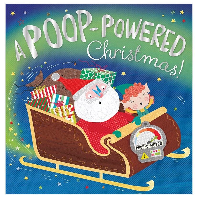 First Spread of A Poop-powered Christmas (9781788439299)