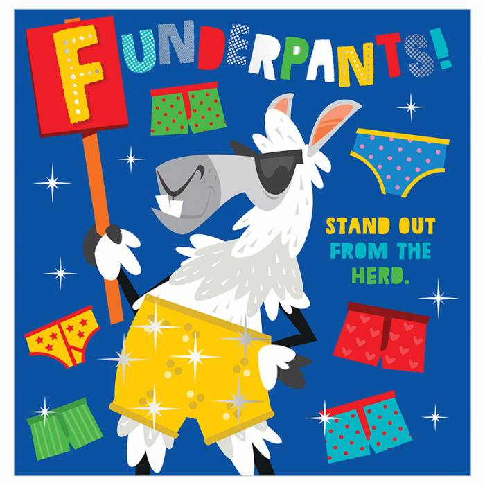 First Spread of Funderpants! (9781789470178)