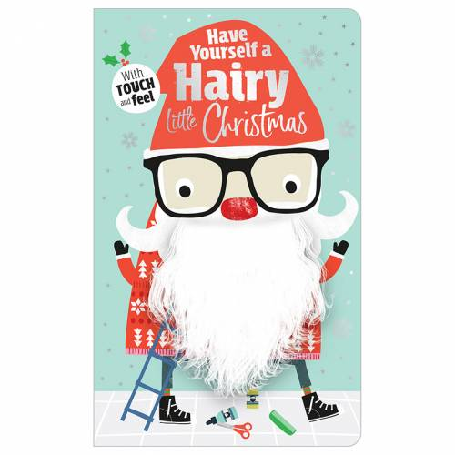 First Spread of Have Yourself a Hairy Little Christmas (9781788432641)