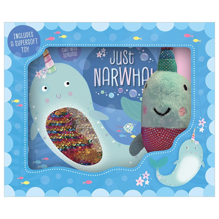 First Spread of Just Narwhal (9781789475586)