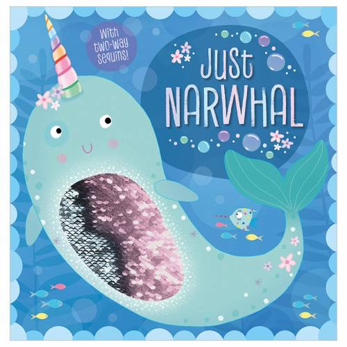 First Spread of Just Narwhal (9781788437547)