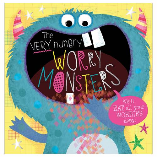First Spread of The Very Hungry Worry Monsters (9781789479843)