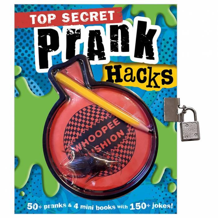 First Spread of Top Secret Prank Hacks (9781788436151)