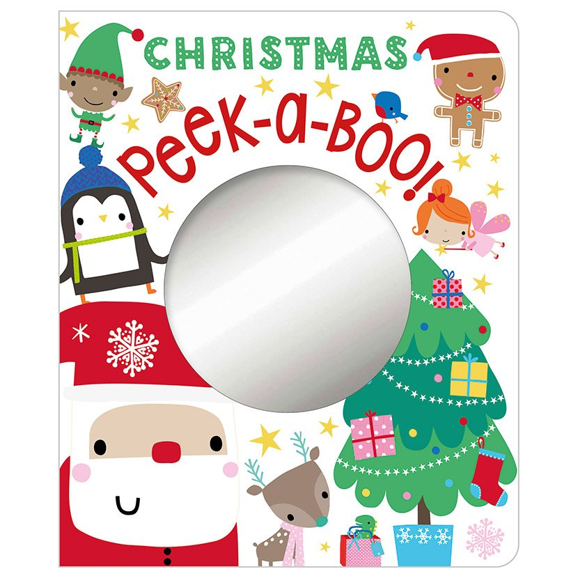 First Spread of Christmas Peek-a-Boo! (9781786925602)