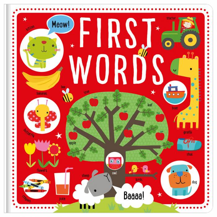 First Spread of First Words (Bumper) (9781786925480)