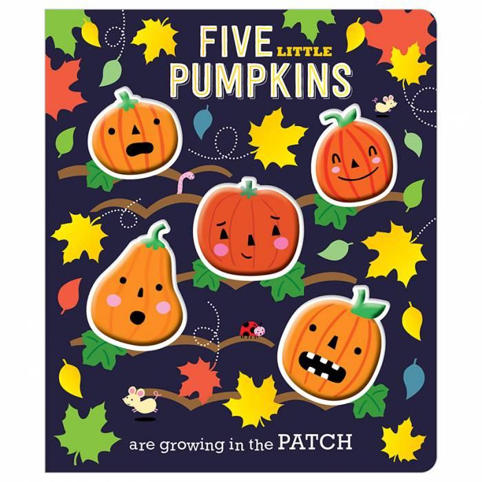 First Spread of Five Little Pumpkins (9781786922168)