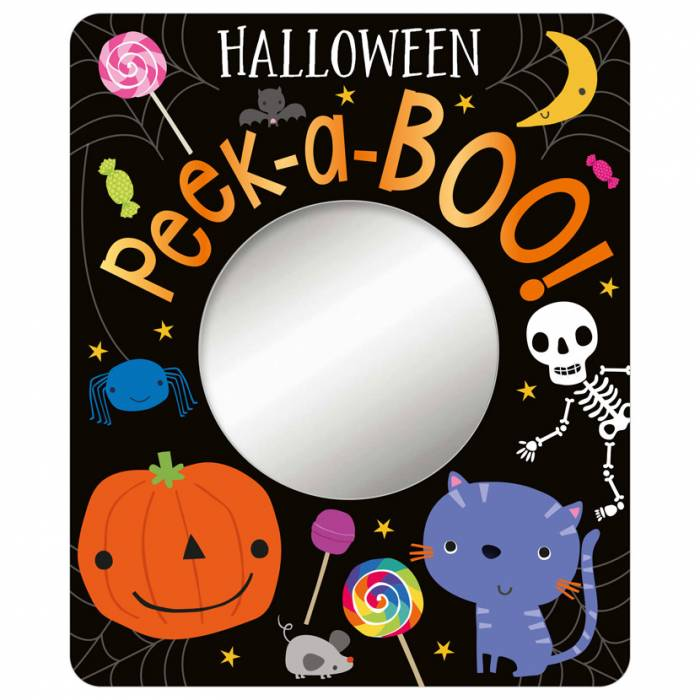 First Spread of Halloween Peek-a-boo (9781788439183)