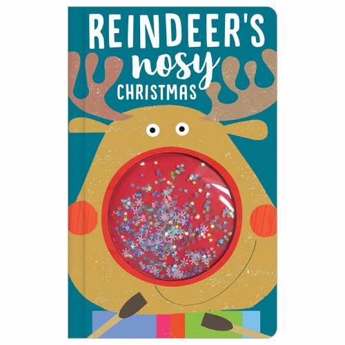 First Spread of Reindeer's Nosy Christmas (9781788432634)