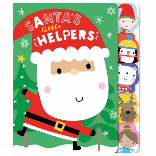 First Spread of Santa's Little Helpers (9781786925619)