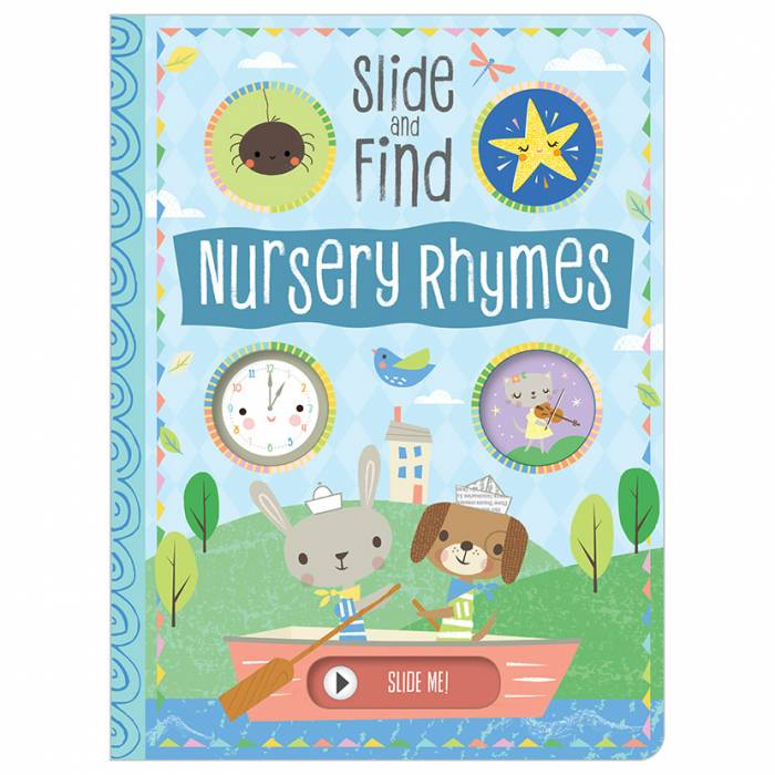 First Spread of Slide and Find Nursery Rhymes (9781788432337)