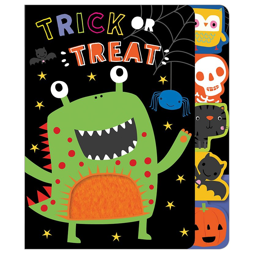 First Spread of Trick or Treat (9781788439190)