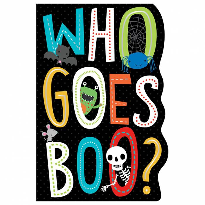 First Spread of Who Goes Boo? (9781788431637)