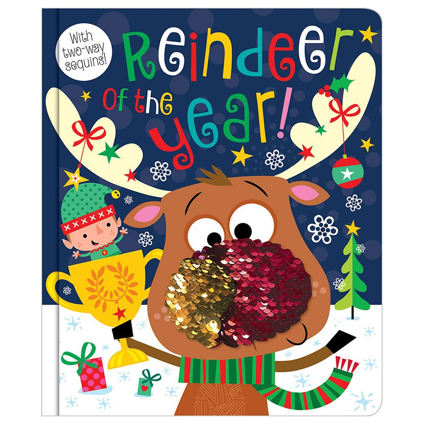 First Spread of Reindeer of the Year (9781788432535)