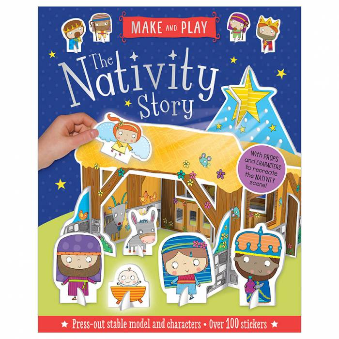 First Spread of The Nativity Story (9781788432603)
