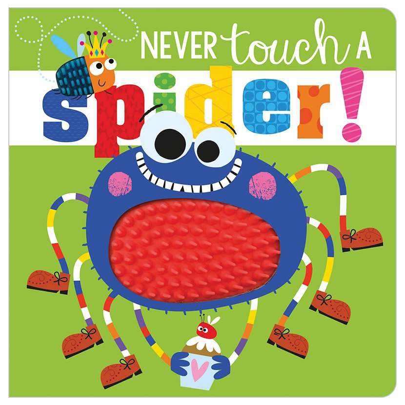First Spread of Never Touch a Spider! (9781788431644)