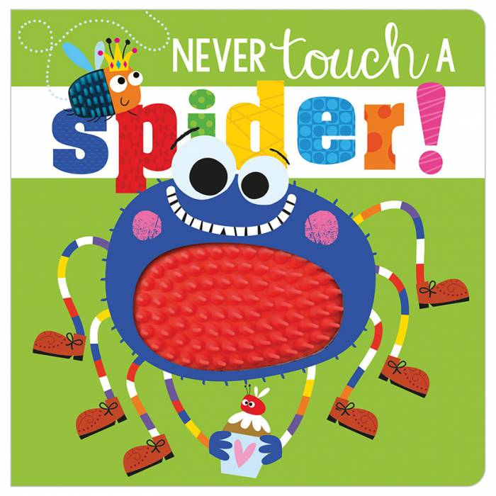 First Spread of Never Touch a Spider! (9781789478853)