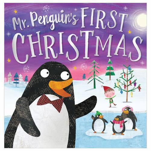 First Spread of Mr Penguin's First Christmas (9781788432573)