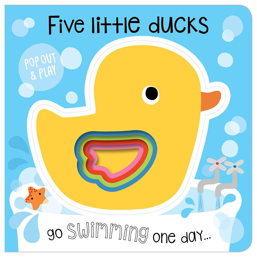 First Spread of Five Little Ducks (9781786929020)