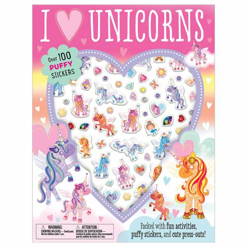 First Spread of I love Unicorns (9781789476576)