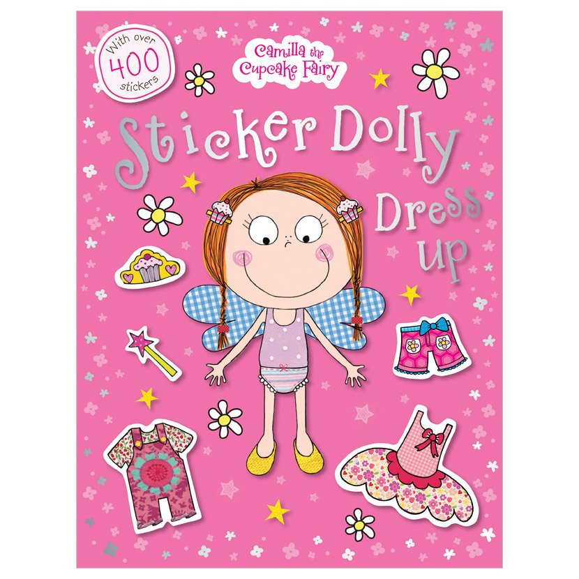 First Spread of Camilla the Cupcake Fairy Sticker Dolly Dress Up (9781780654249)