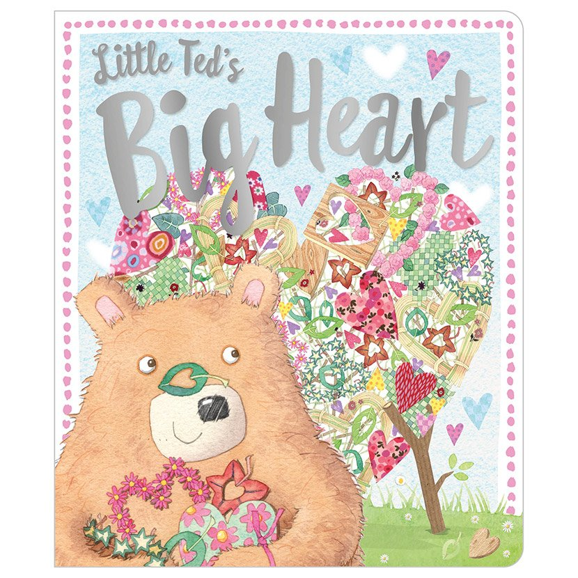 First Spread of Little Ted's Big Heart (9781786928566)