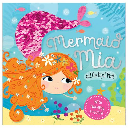 First Spread of Mermaid Mia and the Royal Visit (9781786929105)