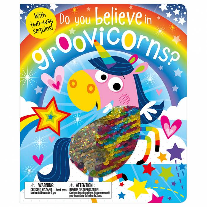 First Spread of Do You Believe in Groovicorns? (9781786929075)