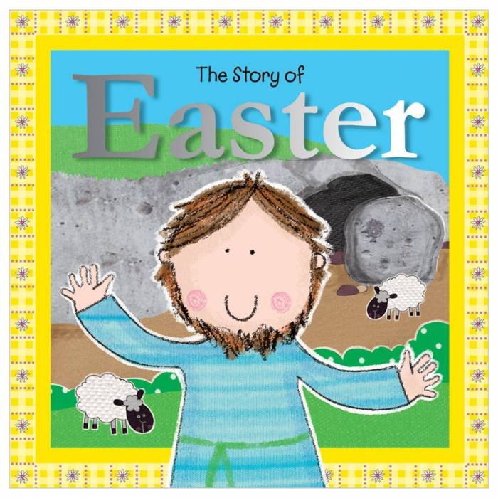 First Spread of The Story of Easter (9781785982408)