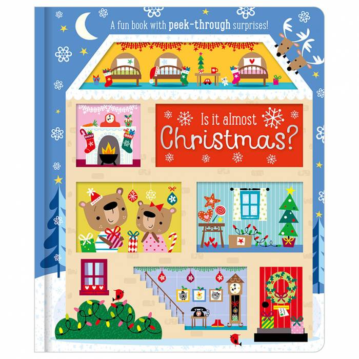 First Spread of Is it Almost Christmas? (9781786923431)