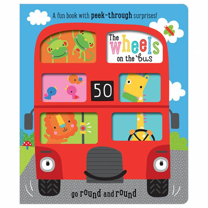 First Spread of The Wheels on the Bus (9781786924018)