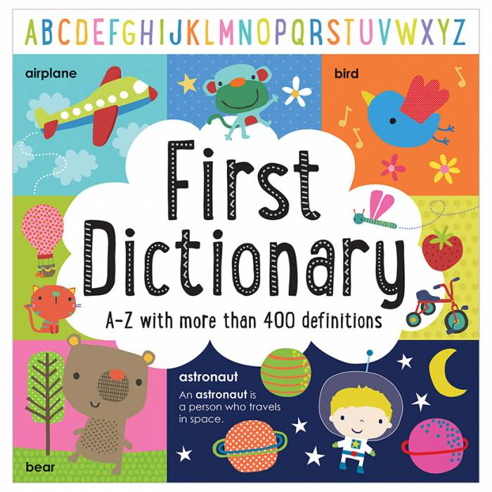 First Spread of First Dictionary (9781786922588)