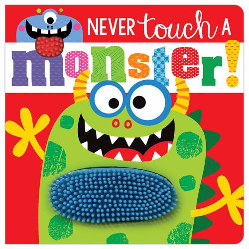 First Spread of Never Touch a Monster! (9781789478822)