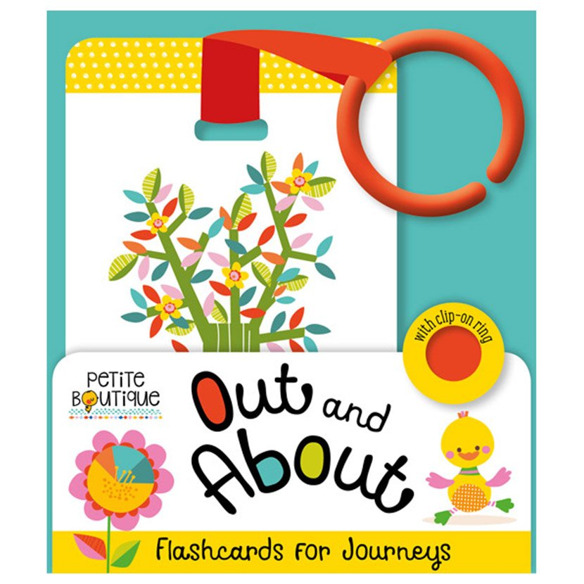 First Spread of Petite Boutique Out and About Flashcards (9781786921178)