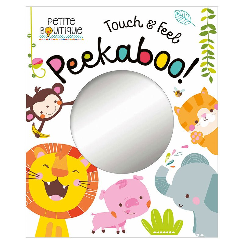 First Spread of Petite Boutique Peekaboo Touch and Feel (9781786921239)