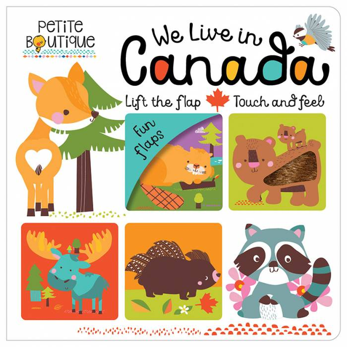First Spread of Petite Boutique We Live in Canada (9781786921567)