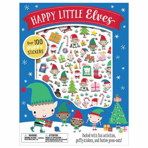 First Spread of Happy Little Elves (9781786923462)