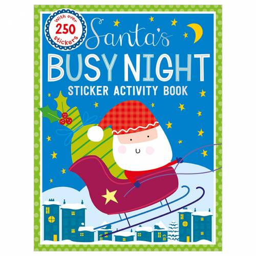 First Spread of Santa's Busy Night Bind Up (9781786924605)